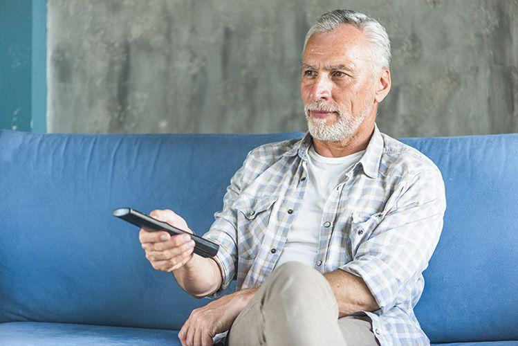 Mantenerse activo mientras se ve la televisión