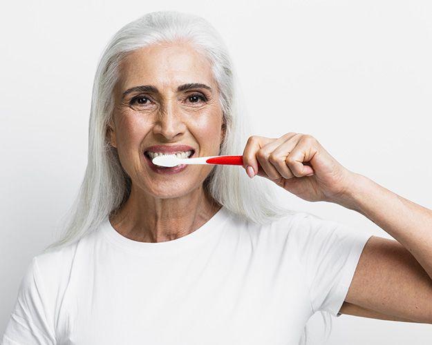Mientras nos lavamos los dientes