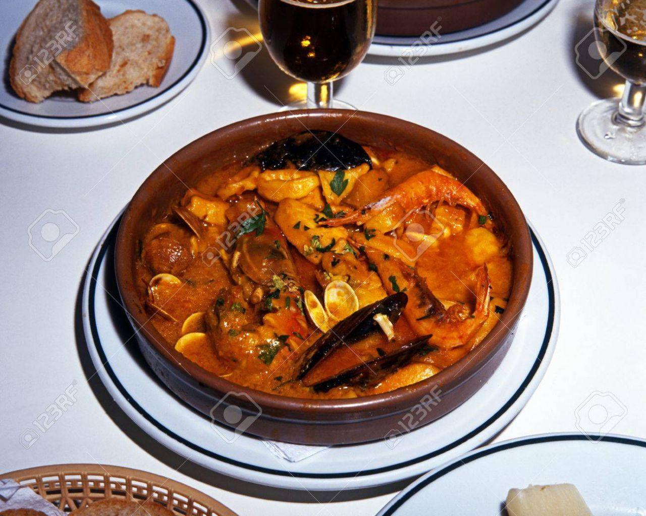La Zarzuela de marisco se sirve también en tapas