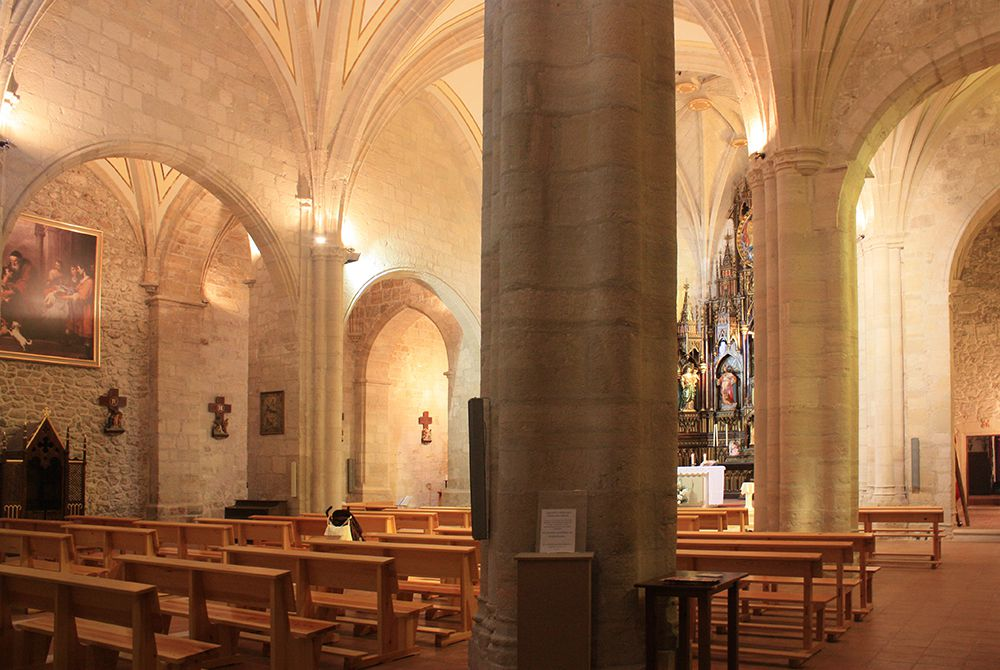 Interior de la Iglesia de Ntr. Sra de la Asunción