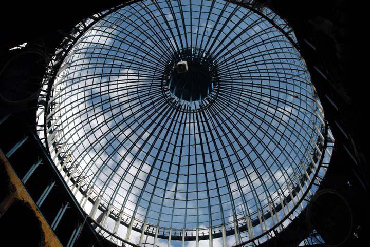 La cúpula principal de inspiración vaticana