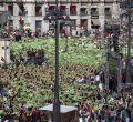 PACMA desborda la Puerta del Sol
