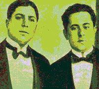 Gardel y Razzano, en sus primeros años de vida artística