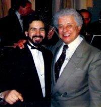 Frankie Ruiz junto a otro '·grande' de la salsa, Tito Puente