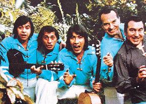 """LAP y """"Los Paraguayos"""" con el que alcanzó la fama internacional"""