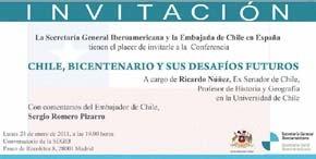 Continúan las manifestaciones en contra del embajador chileno en España