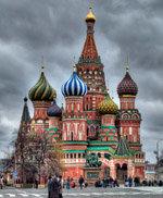 La Plaza Roja de Moscú está ahora, un poco más cerca de Chile