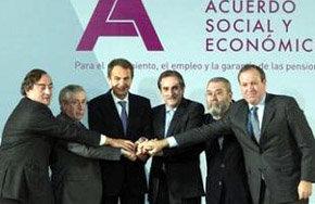 El acuerdo alcanzado asegura las pensiones, dice Zapatero