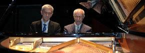 Juan Mendívi (d) y Dimitar Kanorov