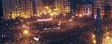 Un millón de personas se han congregado en la Plaza de Tahrir