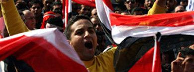 La noticia fue recibida con júbilo y euforia en El Cairo