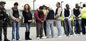 Colombia extradita a EEUU a siete integrantes de bandas criminales