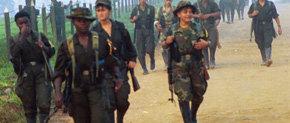 Rebeldes de las FARC presos en Bogotá ratifican su 'compromiso de lucha' con la guerrilla