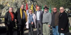 Un grupo de periodistas europeos, integrantes de la Academia Europea de Periodismo Turístico