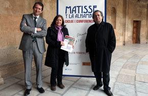 Matisse y la Alhambra, a debate en el Palacio de Carlos V