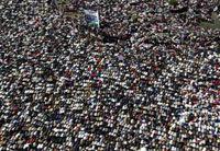 Decenas de miles de egipcios celebraron en la plaza Tahrir la renuncia de Mubarak