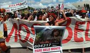 Indígenas piden a la presidenta de Brasil que paralice una presa