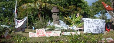 Desestiman anuncio del Gobierno chileno de devolver propiedades a isleños