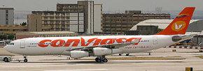 La aerolínea estatal Conviasa inauguró este miércoles la ruta Caracas-La Habana