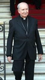 Cardenal Errázuriz admite haberse equivocado en caso Karadima