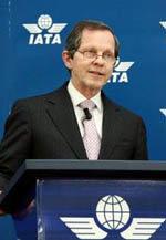 El director general de IATA, Giovanni Bisignani