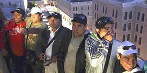 Los mineros chilenos en Tel Aviv