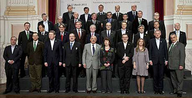 Ministros de Exteriores de la UE dicen estar unidos ante la crisis de Libia
