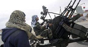 Rebeldes libios pierden el terreno defendido en los últimos días