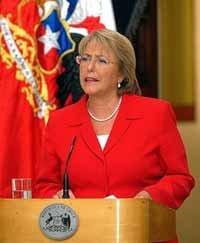 Michelle Bachelet Jeria, en una imagen de archivo