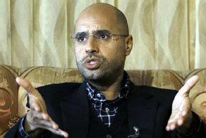 Hijo de Gaddafi dice que 'en 48 horas todo habrá terminado'