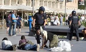 Las Redadas policiales contra inmigrantes son frecuentes en Madrid en especial, en sectores aledaños a algunas estaciones de Metro como Usera y Legazpi