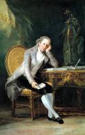 Jovellanos, pintado por Goya