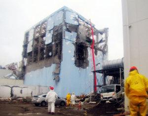 Baja el nivel de agua contaminada en el reactor número 2 de la central nuclear Fukushima Uno