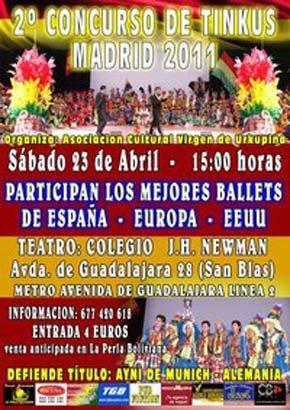 Sólo DOS días para el Concurso de Tinkus Madrid 2011