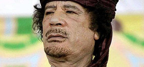 Gadaffi: 'Somos una familia'...
