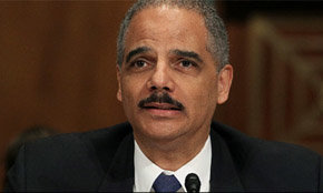 El fiscal general estadounidense, Eric Holder
