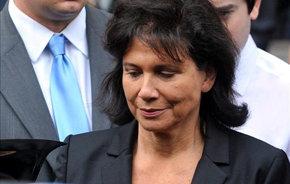 Anne Sinclair, esposa del exdirector gerente del Fondo Monetario Internacional (FMI)