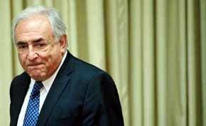 El director gerente del Fondo Monetario Internacional (FMI), el francés Dominique Strauss-Kahn