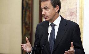 José Luis Rodríguez Zapatero, presidente del Gobierno