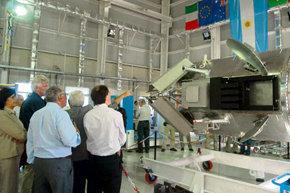 Ya está en órbita el satélite argentino SAC-D / Aquarius, fue lanzado hoy.