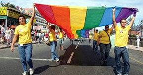 Fiesta del Orgullo Gya, en alguna ciudad española en magen de archivo