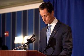 El congresista demócrata por Nueva York Anthony Weiner