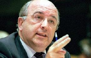 El vicepresidente de la Comisión Europea y comisario de Competencia, Joaquín Almunia