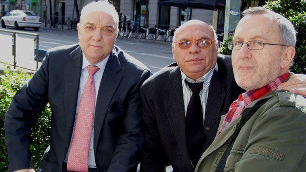 De (i) a (d) Julián Carazo, Quino Moreno y Enrique Lozano