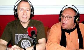 Enrique Lozano (i) y Quino Moreno