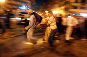 Casi 600 heridos en los disturbios de la plaza Tahrir de El Cairo
