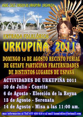 """Brillante y colorida Fiesta boliviana en la celebración de la fiesta de """"La Virgen de Urkupiña"""" en Madrid"""