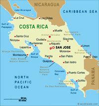 Costa Rica, entorno natural con variedad de ruidos y sonidos