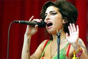 La cantante británica Amy Winehouse, imagen de archivo