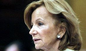 La vicepresidenta económica del Gobierno, Elena Salgado